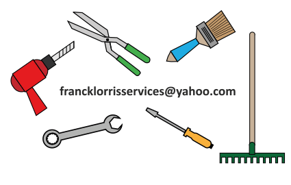 Création carte de visite frank lorris service