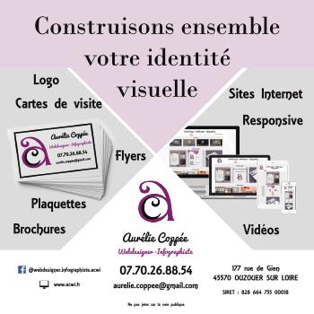 Flyer Aurélie Coppée Webdesigner - Infographiste