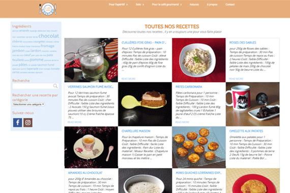 Création site internet lilicooking