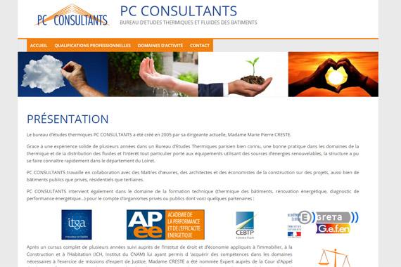 Site internet PC CONSULTANTS