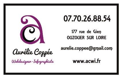 Carte De Visite Aurlie Coppe Webdesigner