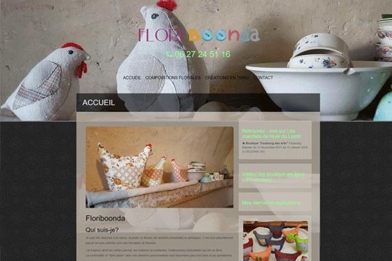 site internet Flori Boonda