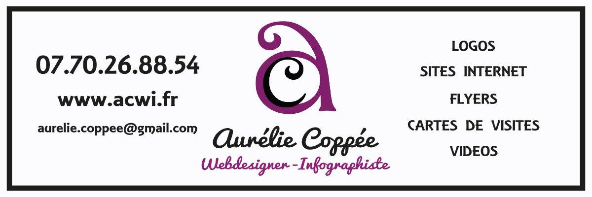 Panneau Aurélie Coppée Webdesigner - Infographiste