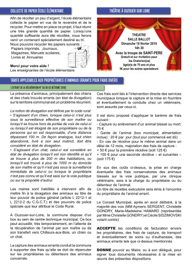 Bulletin municipal d'Ouzouer sur Loire page 3