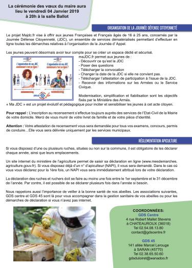 Bulletin municipal d'Ouzouer sur Loire page 4
