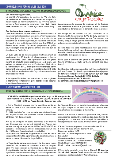 Bulletin municipal d'Ouzouer sur Loire page 5