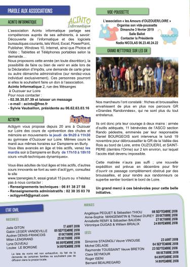 Bulletin municipal d'Ouzouer sur Loire page 6