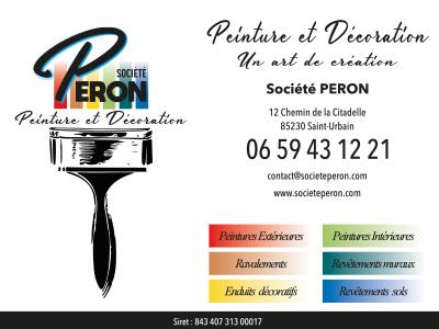 Réalisation de panneau Société Peron