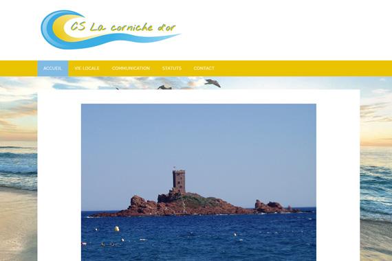 site internet du CS la corniche d'or