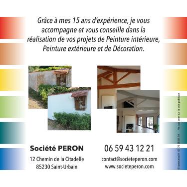 Réalisation de flyers Société Peron
