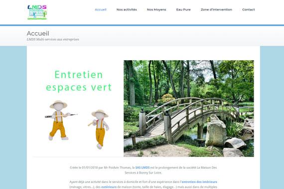 Création site internet SAS LMDS Briare loiret 45