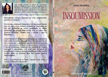 """Mise en page du texte du roman """"Insoumission"""""""