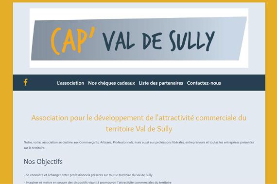 Création site internet CAP VAL DE SULLY 45 loiret