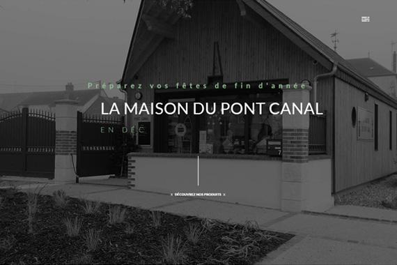 Site internet responsive pour la maison du pont canal de Briare loiret